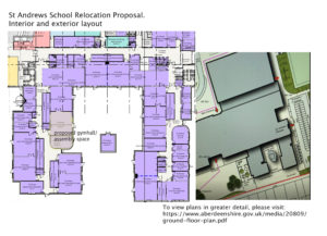 st andrews relocation plans
